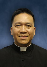 Fr. Cong Nguyen in clerics